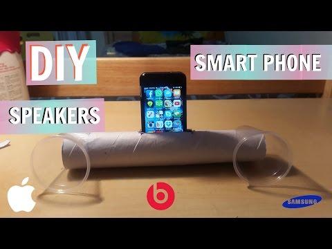 DIY Cell phone Speaker/Amplifiers