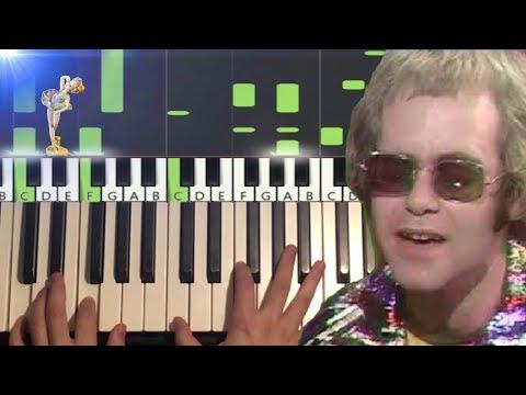 Elton John - Tiny Dancer (Piano Tutorial Lesson) - ClipMega com