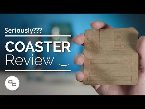 Floppy Disk Coaster Review, Seriously? - Krazy Ken's Tech Misadventures