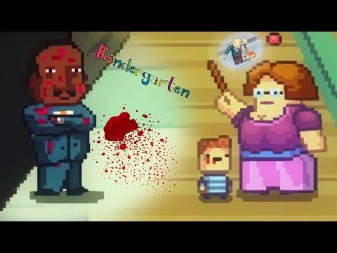 KILLING ALL THE STUDENTS FOR THE TEACHER THO!? | Kindergarten (Part 3)