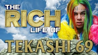 TEKASHI 69   The RICH Life   Forbes Net Worth   Chains, Grillz, Tattoos & more...