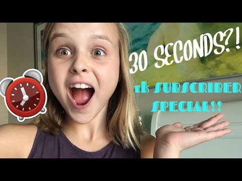 30 SECOND SLIME CHALLENGE!!   1k Subscriber Special ft. Avery   Maya's Diy Channel