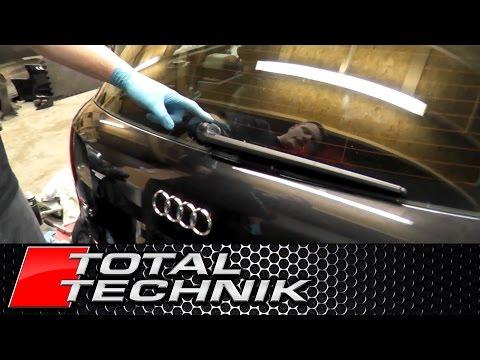 How to Remove Rear Wiper Arm - Audi A4 S4 RS4 - B6 B7 - Avant Estate - TOTAL TECHNIK