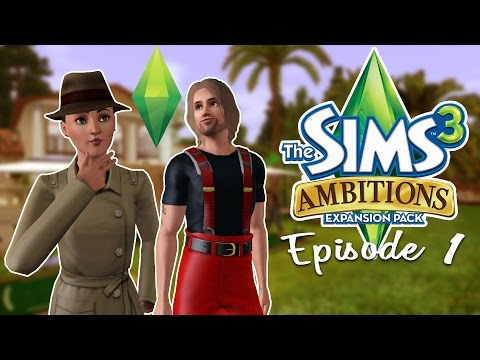 Sims 3: Ambitions | Part 1 | Sean vs Plant