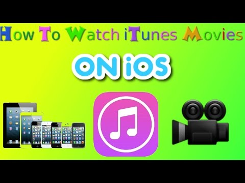 How to watch iTunes Movies/TV Shows on iPhone/iPad