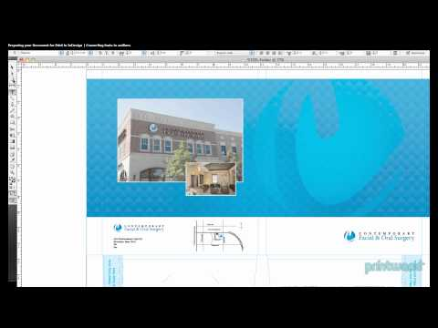 Converting fonts to outlines in InDesign - Print Document Tutorial 2/4