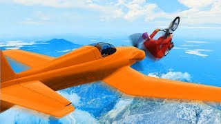 GLIDE FAST OR GET HIT! - GTA 5 Funny Moments