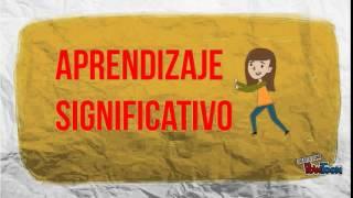 APRENDIZAJE SIGNIFICATIVO : CONSTRUCTIVISTA