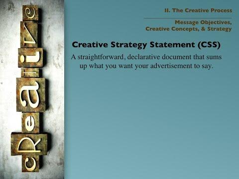 Creative Strategy Statement