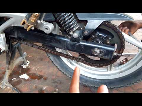 How To | Cut and Install a Chain | Pulsar 180 chain slack adjustment | bullet singh boisar