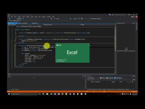 Tick Mark / Excel Add in: Custom ribbon