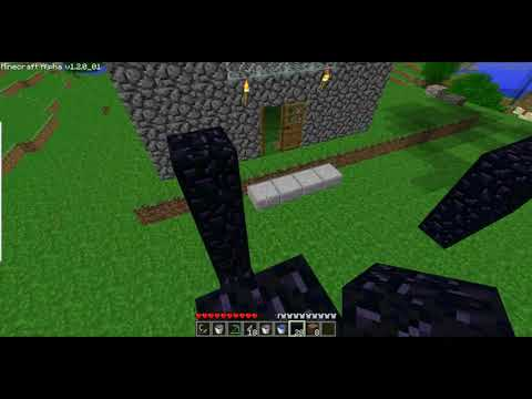 How to get to hell in Minecraft