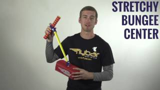 My First Flybar Foam and Bungee Cords Stretchable Pogo Hopper with Soft Handles