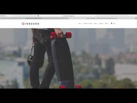 Save $100 on the Inboard M1 Electric Skateboard! Super Easy!