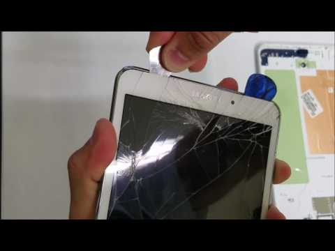 How to replace Glass Digitizer on the Samsung Galaxy Tab 4 8.0