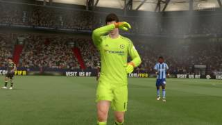 Djurgårdens IF vs Chelsea - 1-0 - Champions Cup Final (Fifa 17, Career Mode)