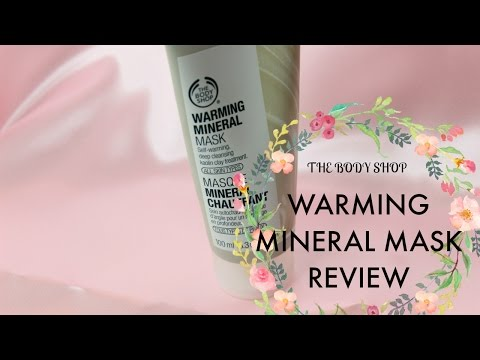THE BODY SHOP Warming Mineral Mask Review, Swatch