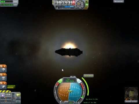 Kerbal Space Program Demo: Flying to the Sun and EXPLOSIONS! (part 2)