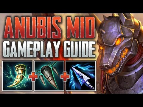 Xxx Mp4 Anubis Mid Gameplay Guide The Lifesteal Mage SMITE A Z Conquest 3gp Sex