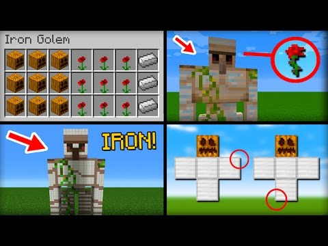 ✔ Minecraft: 20 Things You Didn't Know About the Iron Golem