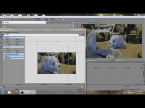 Sony Vegas - How To Place Two Videos Side By Side / Split Screen