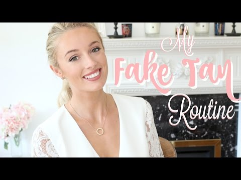 My Fake Tan Routine  |  How I Maintain a Natural Golden Glow!    |   Fashion Mumblr AD