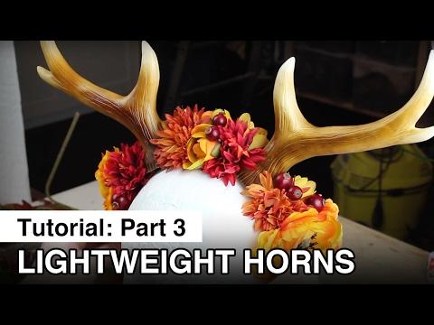 Sculpting and Mold Making Part 3: Lightweight Horns
