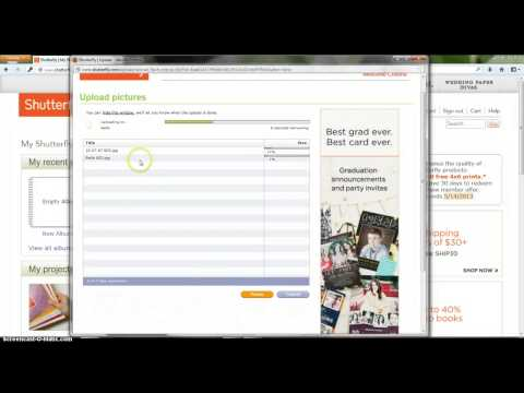 How To Upload Pictures to Shutterfly