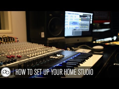 How to Set Up Your Home Studio