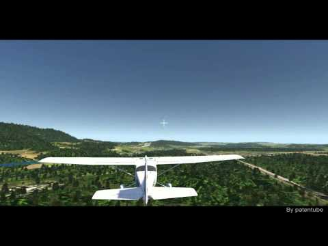 Flight Simulator 2012 : AeroFly - Fly with small plane with Mouse
