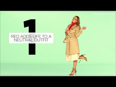 3 Ways Wearing Red Won't Make You Blush