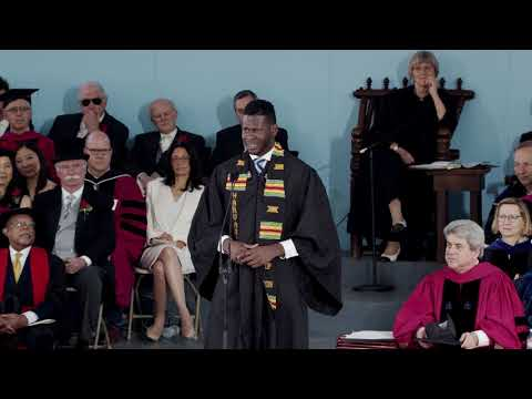 Undergraduate Speaker Christopher Egi | Harvard Commencement 2018