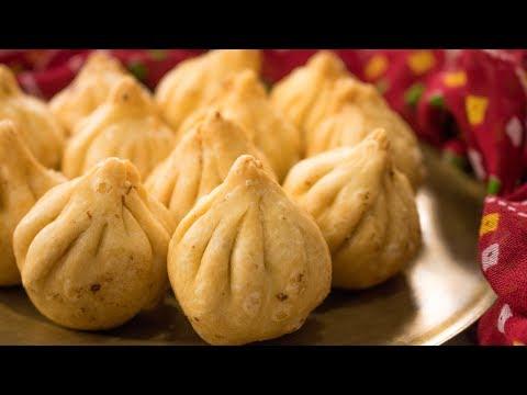 Fried Modak Recipe   How to make Talniche Modaks for Ganesh Chaturthi without Mold