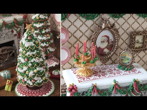 3-D Christmas Fireplace Cookie Accessories: A Companion Video