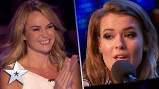 """Mega-talented"" singer performs BEAUTIFUL original song!   Auditions   BGT Series 9"