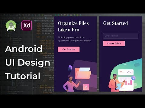 UI Onboarding Animation Adobe Xd to Android Studio Tutorial