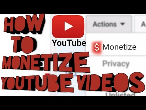 How to Monetize YouTube videos on Android?