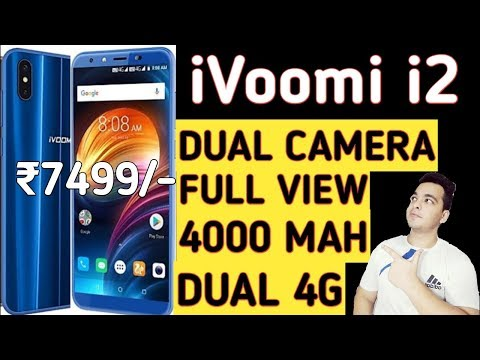 iVoomi i2 Budget Dual Camera Launched At Rs 7499 | Better Then Real Me 1 & Redmi 5?? [Hindi]