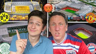 RANKING THE TOP 10 BEST STADIUMS IN EUROPE... *GONE WRONG*