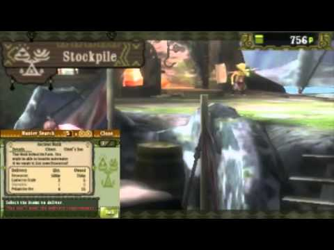 Let's Play Monster Hunter 3 Ultimate Episode 14 Sharqskin