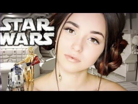 JOIN THE LIGHT SIDE   Star Wars Makeup Tutorial (Princess Leia Inspired)