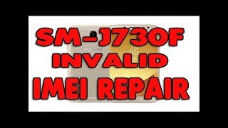 SM-J730F imei repair done 1000% tested by solusionbazar