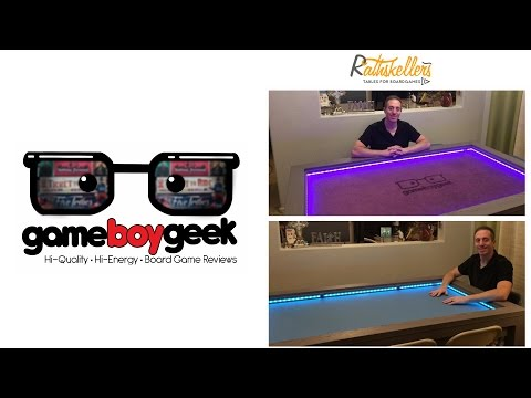 Rathskellers Councilor Board Game Table Review with the Game Boy Geek