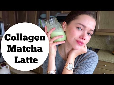 Collagen Matcha Latte For Skin, Hair And Optimal Health | Mommy, Model, Holistic Nutritionist Tips