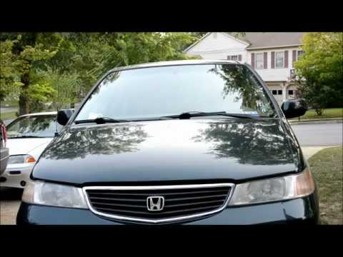 Honda Odyssey Air Filter Change 1999-2004