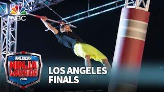 Flip Rodriguez at the Los Angeles Finals - American Ninja Warrior 2016