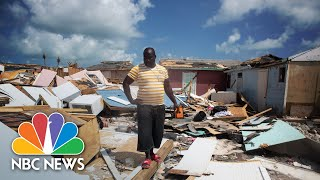 After Hurricane Dorian's Destruction In The Bahamas, Search And Rescue Begins In Abaco | NBC News