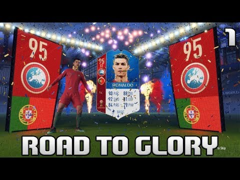 FIFA 18 WORLD CUP ROAD TO GLORY #1 | AMAZING START! - GREAT ICON!! | ULTIMATE TEAM