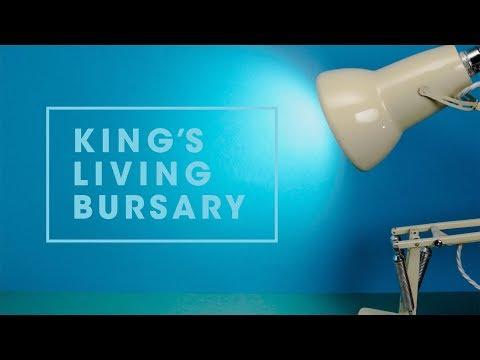 King's Living Bursary 2017-18