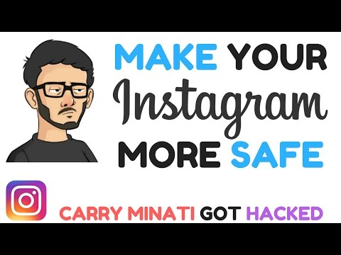CARRYMINATI GOT HACKED ! | HOW TO BE SAFE AT INSTAGRAM || HOW TO MAKE YOUR INSTAGRAM MORE SECURE!